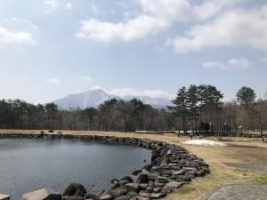 磐梯山もくっきり