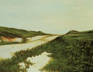 伊藤桂司《Heisaura Beach》2001-03年 アクリル、カンヴァス
