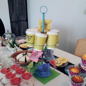 郡山市にあるティールームコリネさんの紅茶やケーキも登場!
