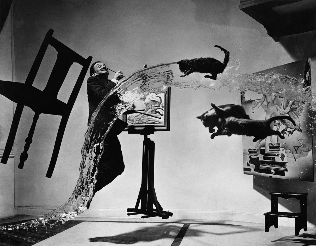 《ダリ・アトミクス》Dalí Atomicus, 1948