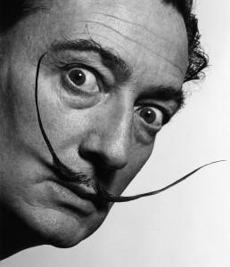 《サルバドール・ダリ》Salvador Dalí, 1954