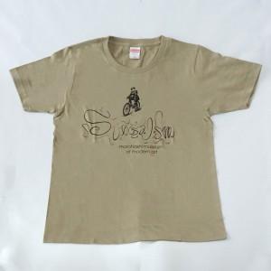 シュルレアリスムTシャツ/カーキ ¥1,980
