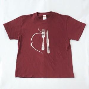 フォーク・ひげTシャツ ¥1,980