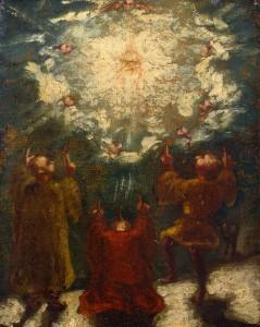 ポール・セザンヌ《宗教的な場面》1860-62年 ポーラ美術館蔵