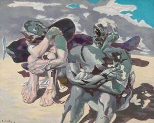 福沢一郎《人》1936年 油彩・キャンバス 東京国立近代美術館蔵