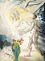サルバドール・ダリ《幻視》1953 - 54年