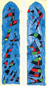 ジョアン・ミ《気晴らしの梯子》1940年
