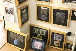 クルックがカバーデザインを手がけたキング・クリムゾンのCD。