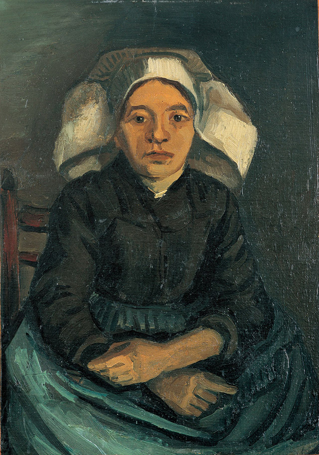 Peasant Woman, Half-Figure, Sitting