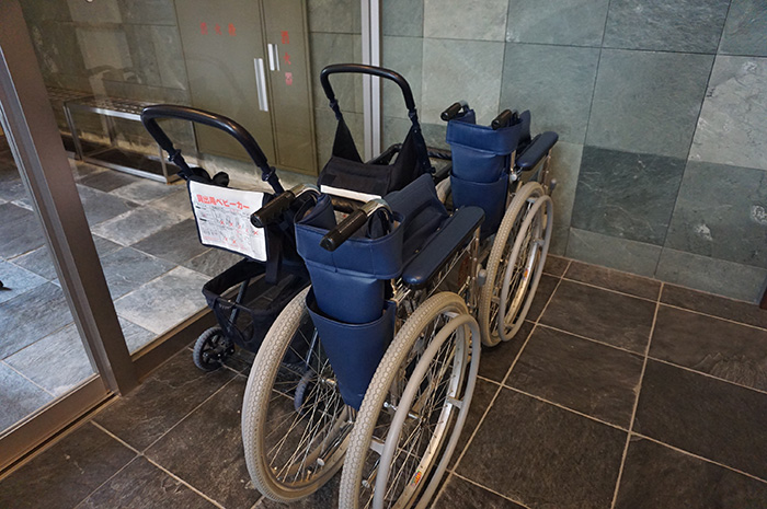Wheelchairs, strollers